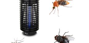 비행 곤충의 파괴 용 램프